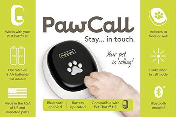 PawCall Works With PatChatz Video Camera