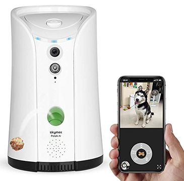 SKYMEE Dog Camera Treat Dispenser Review