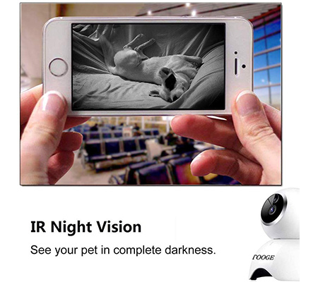 TOOGE Day and Night Vision Video Feed