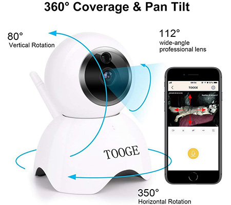 TOOGE Video Camera Features