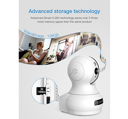 Conico 1080P HD Video Camera Storage