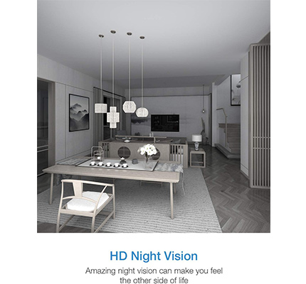 Conico Wireless Video Camera With Night Vision