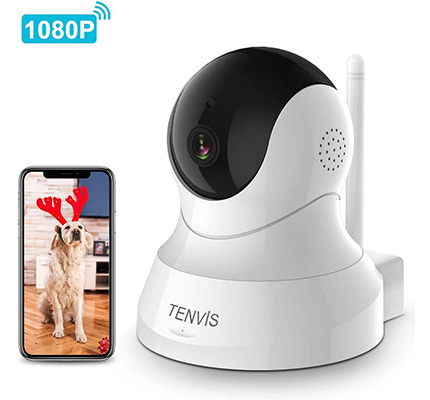 Tenvis dog camera review