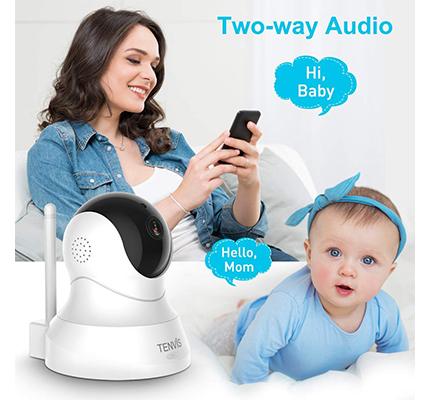 Tenvis dog camera two way audio