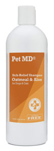 Pet MD - Oatmeal Dog Shampoo for Dogs