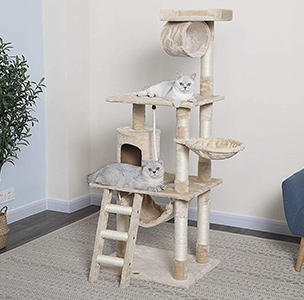 Cat Tree Height Furry
