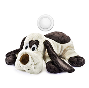 Moropaky Puppy Toy with Heartbeat Dog Training Toy