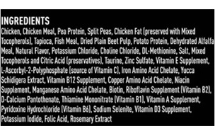Crave Grain Protein Free High Dry Cat Food Ingredients