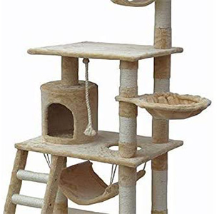 Go Pet Club 62-Inch Cat Tree for Large Cats