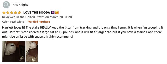 Kris - Petmate Litter Box Review