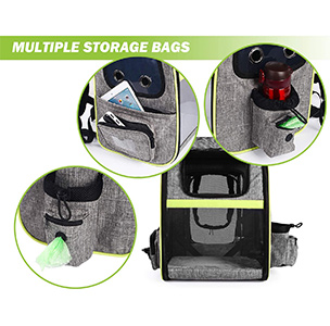 Petcute Cat Carrier Backpack Features