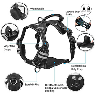 Winsee Dog Harness Features
