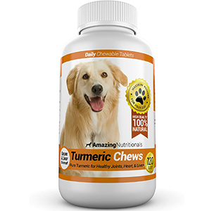 Amazing Turmeric for Dogs Curcumin Pet Antioxidant