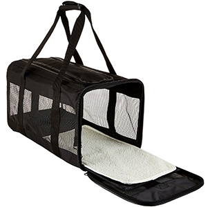 AmazonBasics Soft-Sided Pet Carrier Pet Tote