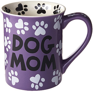 Enesco Dog Mom Stoneware Mug