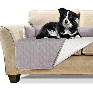 Furhaven Pet Furniture Cover - Two-Tone Reversible Water-Resistant