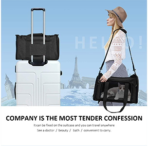 Henkelion Dog Carrier Pet Carrier for Small Medium Dogs Puppies