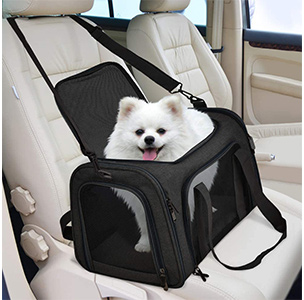 Henkelion Pet Carrier For Small Medium Dogs Puppies