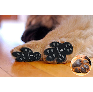 LOOBANI Dog Paw Protector Anti-Slip Traction Pads