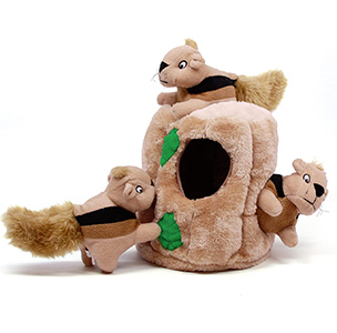 Outward Hound Hide-A-Squirrel Squeaky