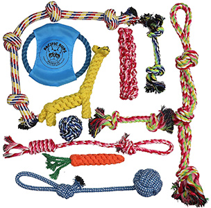 Pacific Pups-dog rope toys for aggressive chewers