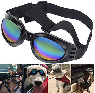 QUMY Dog Goggles Eye Wear