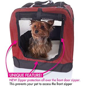 2PET Foldable Dog Travel Crate