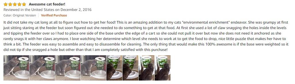 Catit Senses Food Tree Review