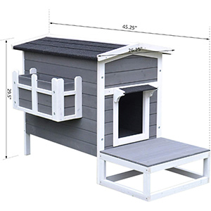 PawHut House Dimensions