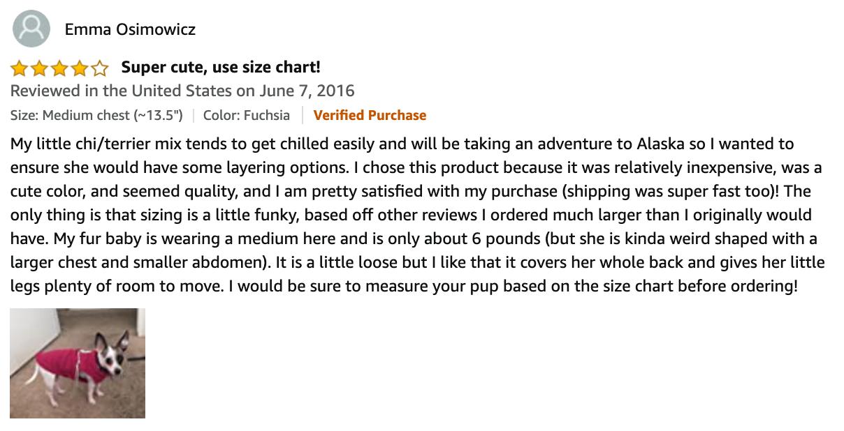 Gooby Fleece Dog Vest Review By Emma