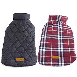 Kuoser Cozy Waterproof Windproof Dog Coat