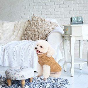 Mihachi Classic Cable Knit Clothes for Dog